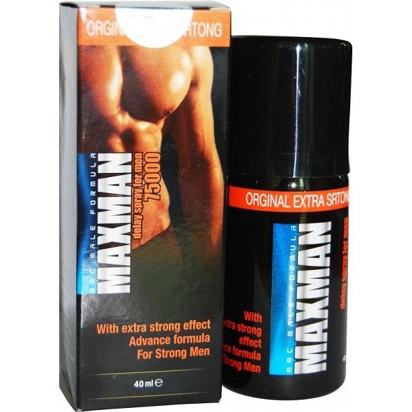 Maxman 75000 Long Lasting Delay Spray For Men (Original)