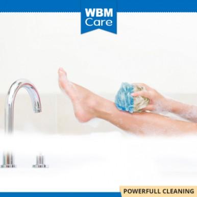 WBM Care High Quality Era Bath Balls- Blue