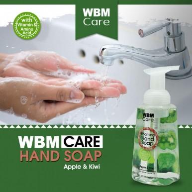 WBM Care Gentle on Skin Foaming Hand Wash Apple and Kiwi-300ml