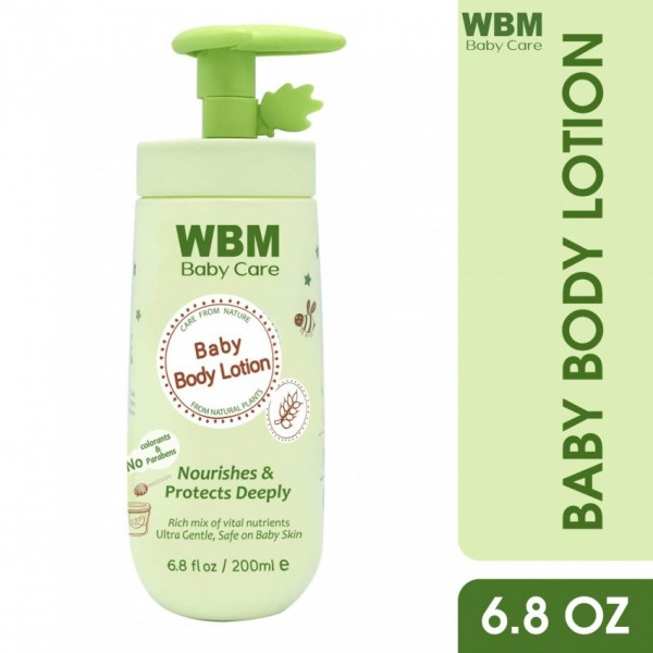 WBM Baby Care Nourishes & Protects Deeply Baby Lotion-200ml