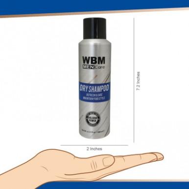 WBM Men Care Refresh and Care Dry Shampoo - 180 ML