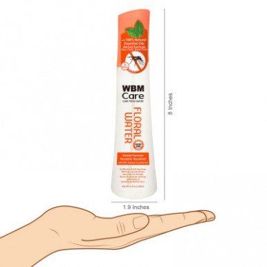WBM Care Mosquito Repellent Floral Water Spray - Protects from Dengue - 100ml