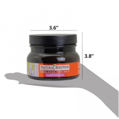 Natural Solution Lavender Oil Body Scrub-350g