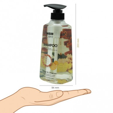 WBM Care Ginger & Cinnamon  Anti-Dandruff Shampoo - 500 ML