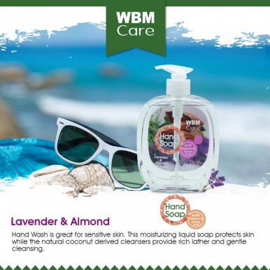 WBM Care Lavender and Almond Skin Nourishes Hand Wash-500 ML
