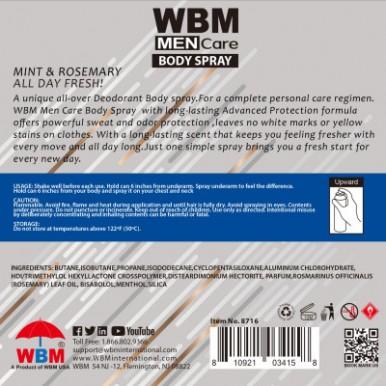Men Care Deodorant  Body Spray Profound -180ml