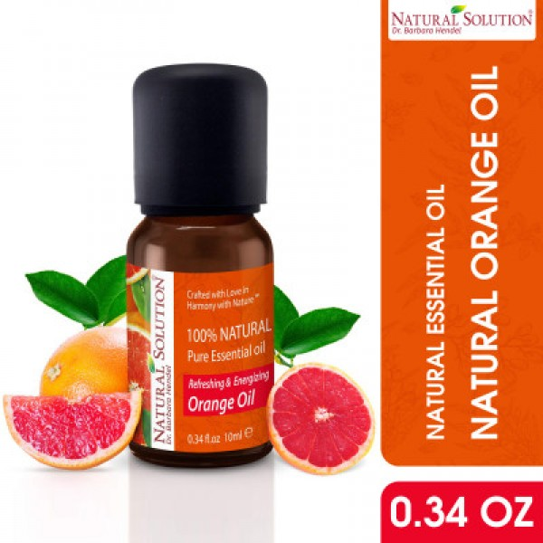Natural Solution 100% Pure Orange Essential Oil - 10ml