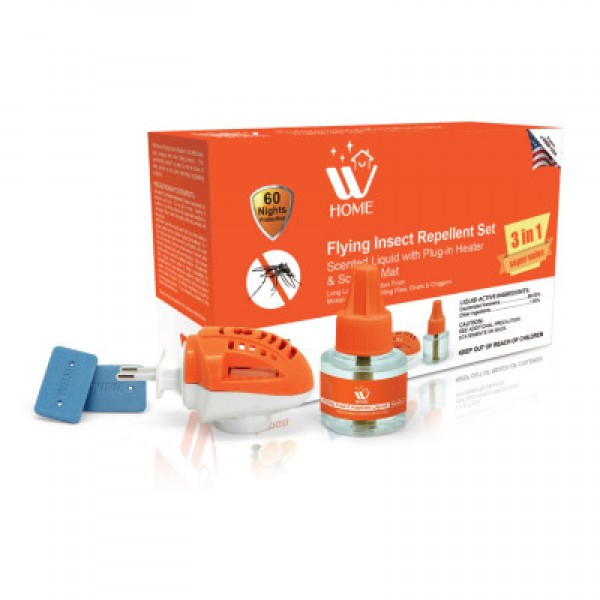 WBM Home Flying Insect Repellent Set Dengue Protection - 45ml