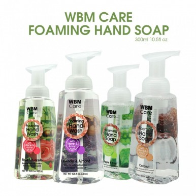 WBM Care Antibacterial Foaming Hand Wash Rose And Avocado-300ml
