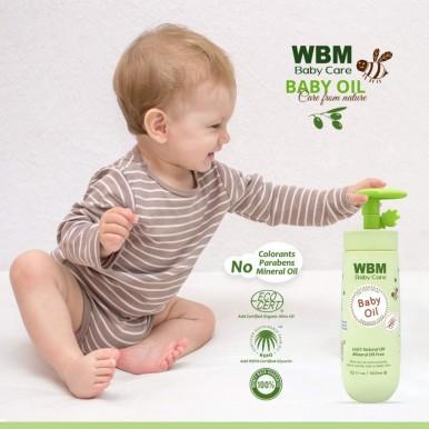 WBM Care  100% Natural Baby Massage Oil-300 ml