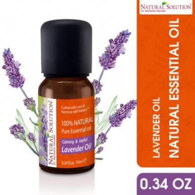 Natural Solution Organic Essential Oil Lavender -10 ml