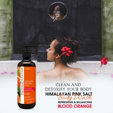 Natural Solution Blood Orange Body Wash - 500ml