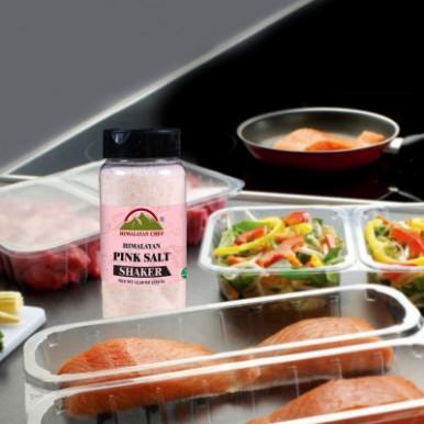 Himalayan Chef 100 percent Naturally Pure Pink Salt Shaker - 354g