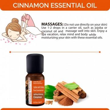 Natural Solution Cinnamon Essential Massage Oil-10ml