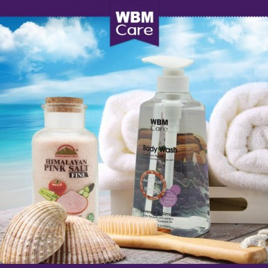 WBM Care Lavender and Almond Moisturizes skin Body Wash - 500 ML