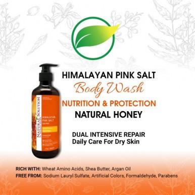Natural Solution Skin Nourishing Honey Body Wash-500ml