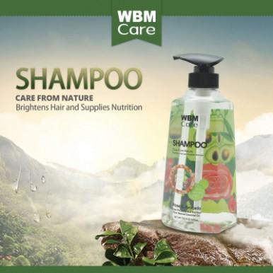 WBM Care Anti-Dandruff Hair Shampoo With Rose And Avocado-500ml