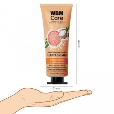 WBM Care Ultra-Conditioning  Milk & Coconut Hand Cream -50 g