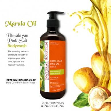 Natural Solution Marula Oil Moisturizing and Nourshing Body Wash-500ml