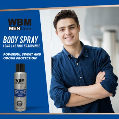WBM Men Care Long-lasting fragrance Body spray  Passion -180ml