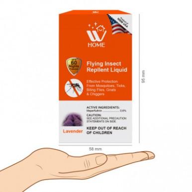 WBM Home Effective Protection Mosquito Repellent Liquid Lavender– 45 ml