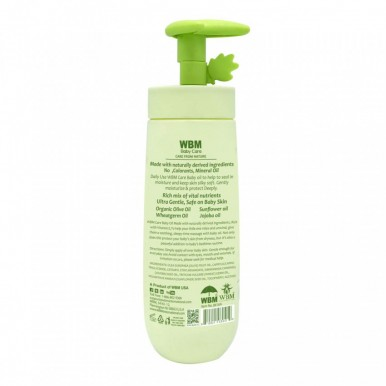 WBM Baby Care 3 in 1 Shampoo Conditioner And Body Wash - 300 ML