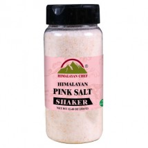 Himalayan Chef 100 percent Naturally Pure Pink Salt Shaker - 354g
