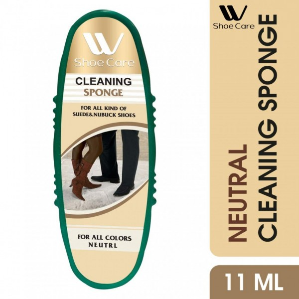 W-Shoe Care Shoe Cleaning Sponge-100ml