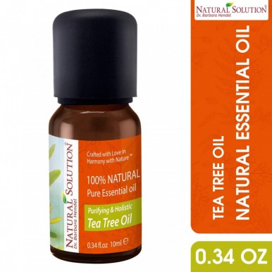 Natural Solution Purifying and Holistic Tea Tree Essential OIL
