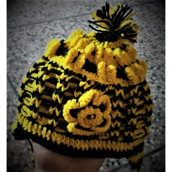 Hand made Woolen Kids Caps