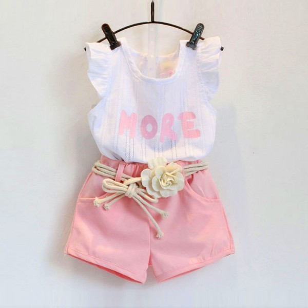 Elegant Baby Girl Shorts and Top Dress for 1 to 6 years