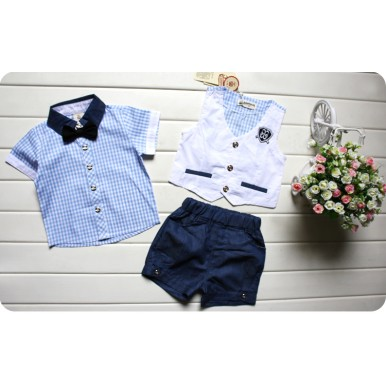 3 pcs summer dress for little boys