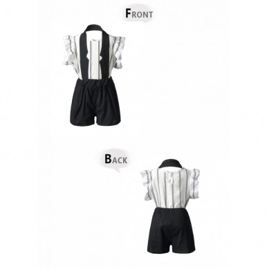 Girls summer dress available 2-7 years (Black and White Colour)