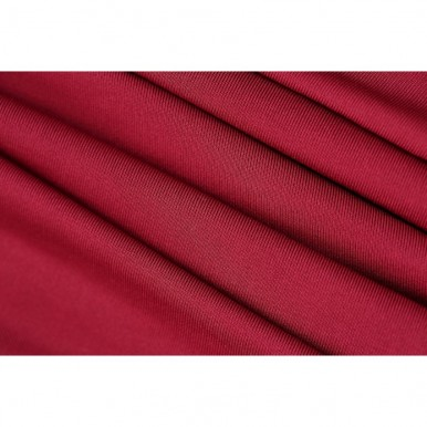 Pack of 6-Dining Chair Fitted Covers- Maroon