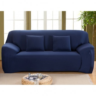 5 Seater Fitted Sofa Cover, Blue Sofa Covers