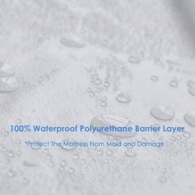 Waterproof Mattress Protector Sheet for single bed size (39inches x 78inches)