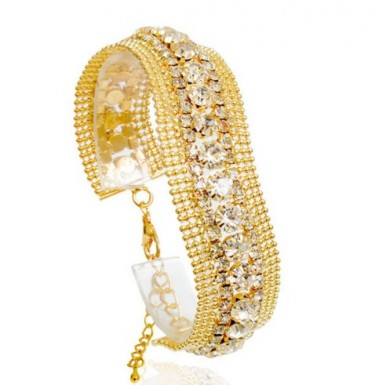 New Fashion Wave Crystal Bracelet