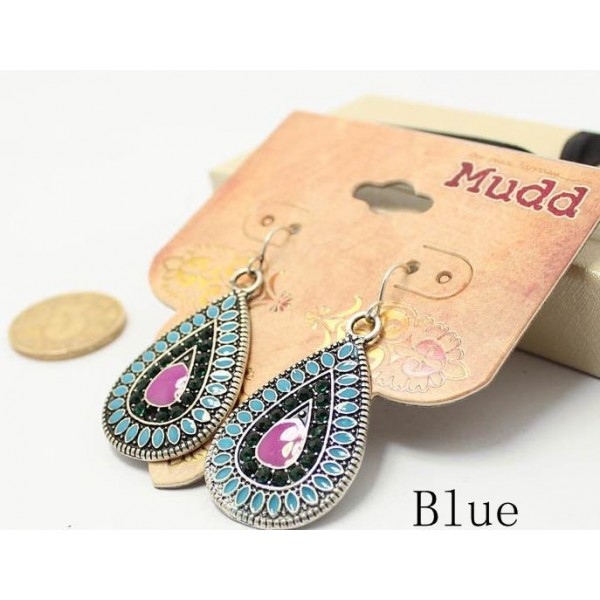 Bohemian Style Water Drop Beautiful Vintage Retro Earring For Her