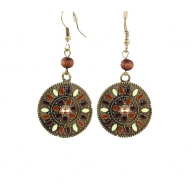 Bohemian Style Dangle Vintage Retro Earrings For Her
