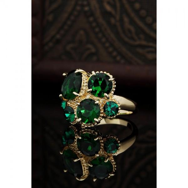 Zircon Rhinestone Engegement Finger Rings For Women