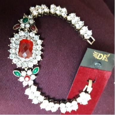 Adorable Rhinestone Bracelet for Her