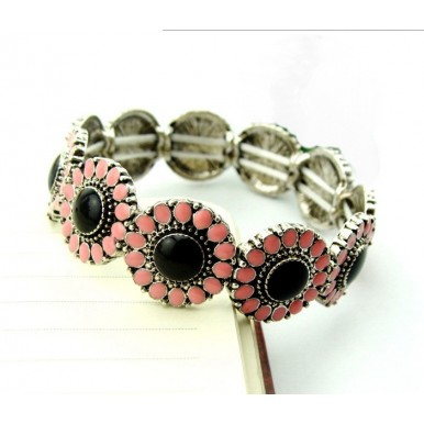 Vintage Retro Flower Bracelet For Women