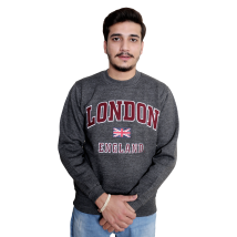 GWCC Unisex London England Sweatshirt Charcoal Maroon