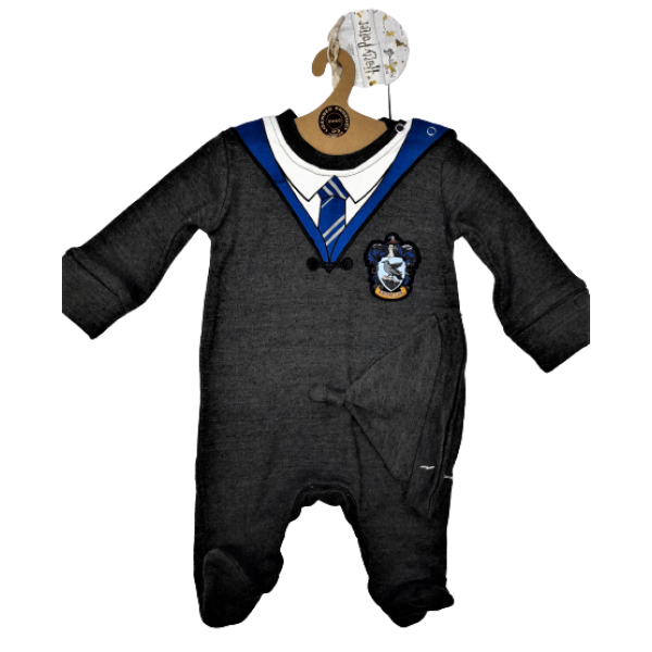 Licensed Harry Potter Kids Romper Baby Grow with Hat Ravenclaw