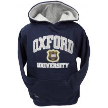 Licensed Unisex Oxford University kids Hooded Sweatshirt Navy