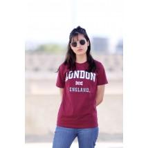 Unisex London england Applique Embroidery T Shirt