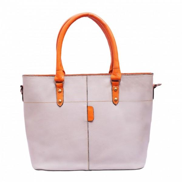 Genuine Cow Leather Ladies Handbag