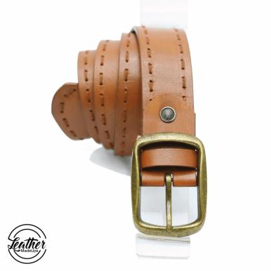 Leather belt for men - Handstitchd
