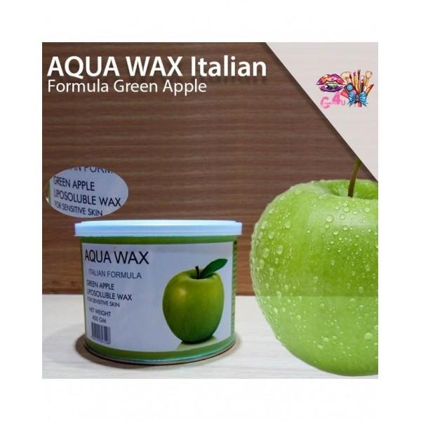 Aqua Wax Italian Formula-Green Apple