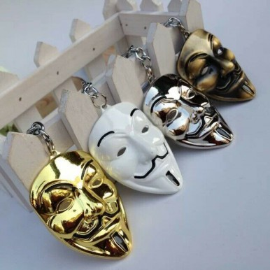 Anonymous V For Vendetta Necklace